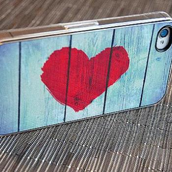 Shabby Chic Rustic Love iPhone Case